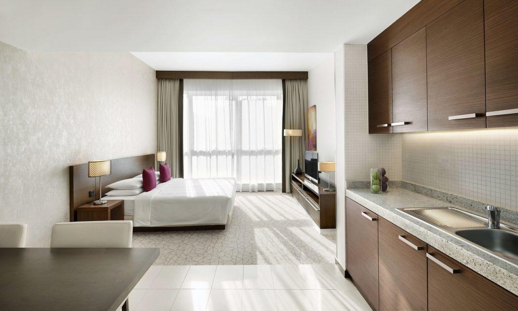 فندق حياة بليس دبي الرقة في شارع الرقة موقع عرب تورز