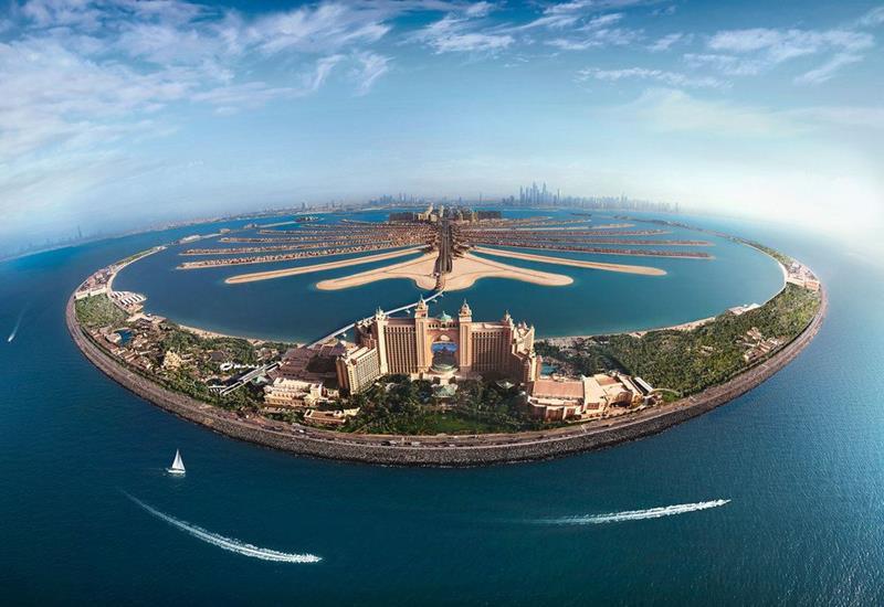 فنادق دبي جزيرة النخلة